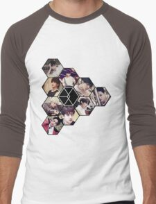 """EXO """"Love Me Right"""" Men's Baseball ¾ T-Shirt"""