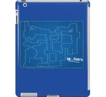 Cs:go - Dust 2 Blueprint iPad Case/Skin