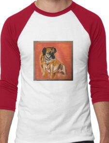 """Sassy"" Oil Painting by Jon Denby  Men's Baseball ¾ T-Shirt"