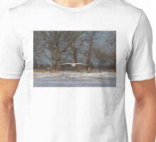 Glider - Snowy Owl Unisex T-Shirt