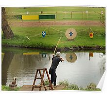 Archery Reflections Poster
