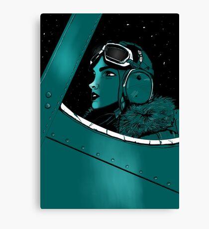 aviatrix Canvas Print