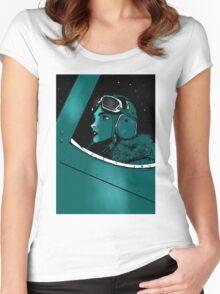 aviatrix Women's Fitted Scoop T-Shirt