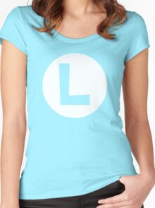 LUIGI  Women's Fitted Scoop T-Shirt