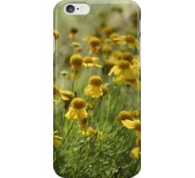Yellow Wildflower Patch iPhone Case/Skin