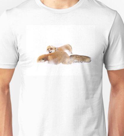 Fox Fight - Algonquin Park Unisex T-Shirt