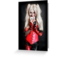 Harley Quinn Cards Greeting Card