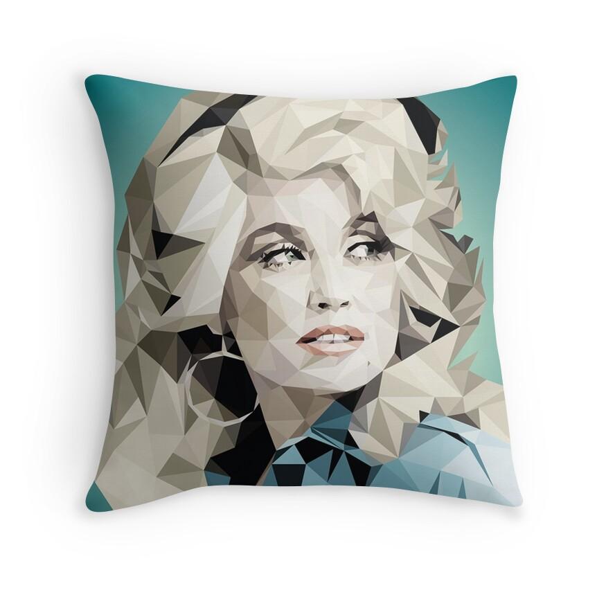 Primark: Throw Pillows Redbubble