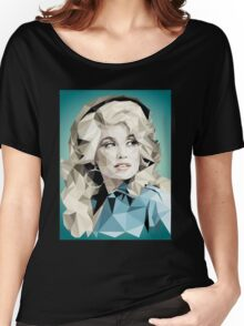 Dolly Parton Pixel Art Women's Relaxed Fit T-Shirt