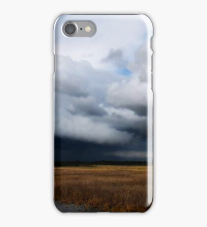 Storm Clouds Over the Plains iPhone Case/Skin