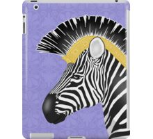 Trojan Zebra Close-Up iPad Case/Skin