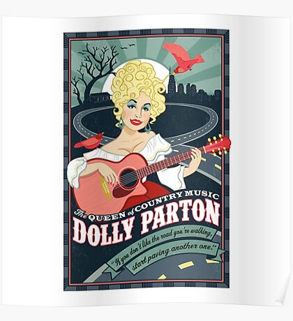 The Dolly Patron Art Poster