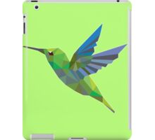 Low Poly Humming Bird iPad Case/Skin
