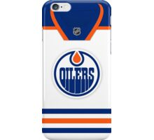 Edmonton Oilers Away Jersey iPhone Case/Skin