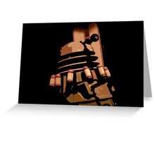 Doctor Who - Destiny of The Daleks Greeting Card