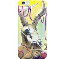 Knitting Deer iPhone Case/Skin