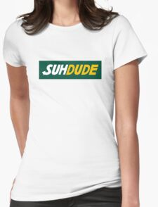suh dude design Womens Fitted T-Shirt
