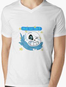 Undertale / Underswap Sans Mens V-Neck T-Shirt