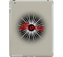 Vintage Red Moog iPad Case/Skin