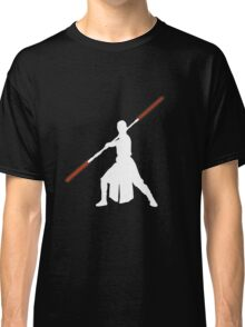 Star Wars - Rey red lightsaber (white) Classic T-Shirt