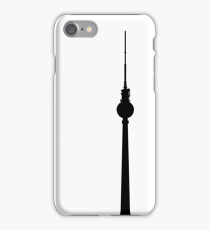 Fernsehturm Berlin iPhone Case/Skin