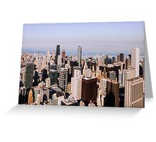 Sweet Home Chicago Greeting Card