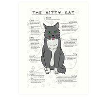The Kitty Cat Art Print