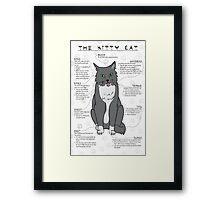 The Kitty Cat Framed Print