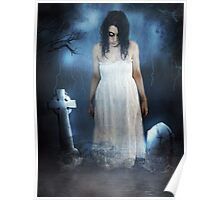 Woman in White Poster