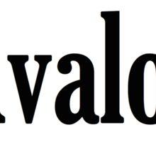 Avalon Sticker