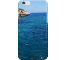 Mallorca scene iPhone Case/Skin