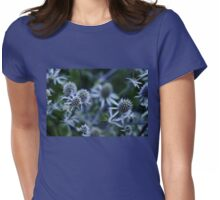 Steel Blue Womens Fitted T-Shirt