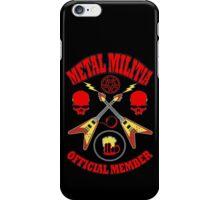Metal Militia Colour iPhone Case/Skin