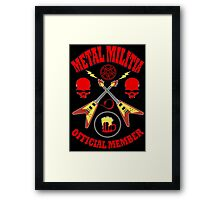 Metal Militia Colour Framed Print