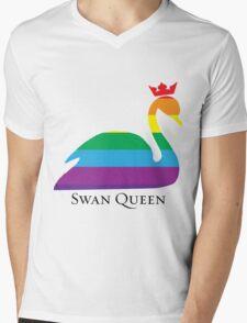 Swan Queen Pride Mens V-Neck T-Shirt