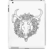 Dear Deer B&W iPad Case/Skin