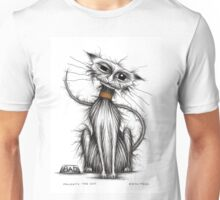 Naughty the cat Unisex T-Shirt