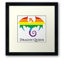 Dragon Queen Pride Framed Print