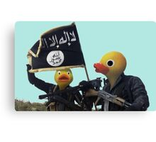 Daeshbags of AlQUACKda Canvas Print