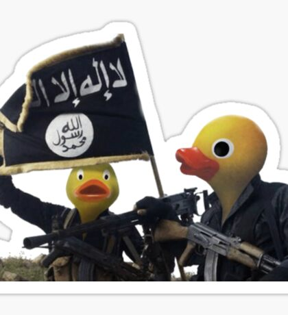 Daeshbags of AlQUACKda Sticker