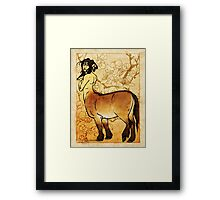Mongolian Beauty Framed Print