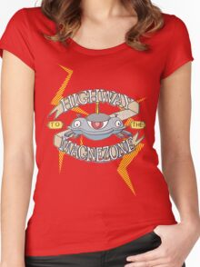 Highway to the Magnezone Women's Fitted Scoop T-Shirt