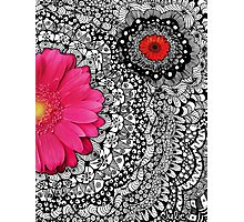 Spring Flower Tangle Photographic Print