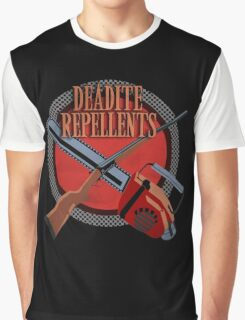 DEADITE REPELLENTS Graphic T-Shirt