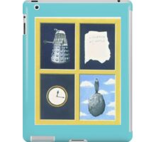 A homage to Rene Magritte. iPad Case/Skin