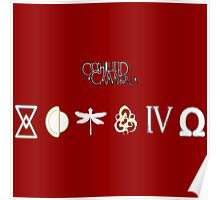 coheed and cambria all logo Poster