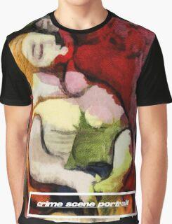 picasso graffiti # 6 - crime scene portrait Graphic T-Shirt