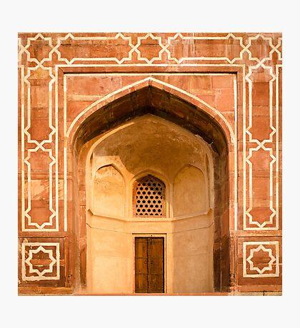 The Temple Door Photographic Print
