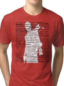 Daryl Dixon Quotes The Walking Dead TWD Graphic  Tri-blend T-Shirt