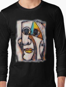 picasso graffiti # 5 Long Sleeve T-Shirt